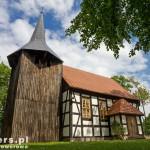 Cieszyno – kościół wzniesiony w XVIII w, przebudowany w połowie XIX w