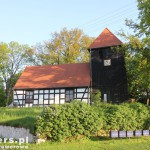 Osiek Drawski. W drodze powrotnej szachulcowy kościół