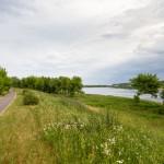 Droga rowerowa wzdłuż Niemna