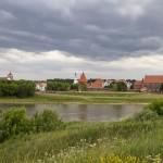 Stare miasto położone między rzekami Willa i Niemnem
