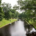 Park Kronwalda jest jednym z najbardziej znanych parków w Rydze. Znajduje się on w miejscu, gdzie niegdyś stały mury miejskie. Przecina go Kanał Miejski