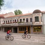 Droga rowerowa na starym mieście ( na ulicy Wileńskiej)
