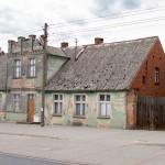 Stary dom z niemiecką przeszłością