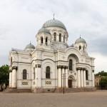 Sobór Michała Archanioła- świątynia zamyka od wschodu Aleję Wolności> Pierwotnie cerkiew wybudowana w stylu neobizjantyńskim obecnie kościół katolicki.