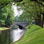 Kanał Miejski w parku Kronwalda