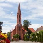 Wyrzysk. Kościół i rynek