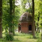 Czajcze – grobowiec hrabiego H. von Goltza w kształcie rotundy
