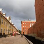 Zrekonstruowane mury miejskie