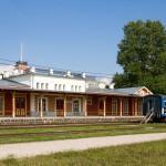 Dworzec datuje się na 1905r. W środku znajduje się muzeum kolei