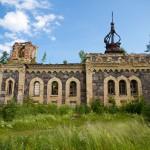 Ruiny kościoła prawosławnego