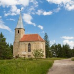 Paluküla kościół popadający w ruinę