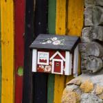 Kolorowa skrzynka na listy
