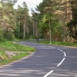 Na prawo las, na lewo las a środkiem asfalt się wije – daleko jeszcze?