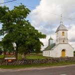 Lümanda – prawosławna świątynia Zmartwychwstania Pańskiego