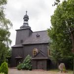 Czerlejno. Drewniany kościół NMP Wniebowziętej z 1743
