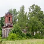 Komsi. Ruiny kościoła prawosławnego p.w, Narodzenia Chrystusa