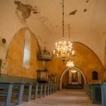 Karuse. Wnętrze kościoła p.w. św. Małgorzaty
