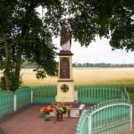 Drzązgowo. Figura św. Józefa 1872 r