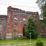 Lihula – ruiny prawosławnej świątyni pw. św. Aleksandra Newskiego