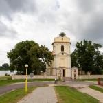 Siedlec. Późnobarokowy kościół z 1770-75