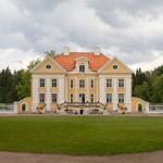 Rezydencja w Palmse wybudowana przez Niemców bałtyckich