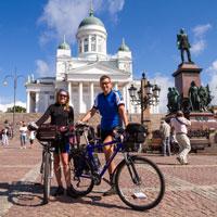 Rowerem po Helsinkach