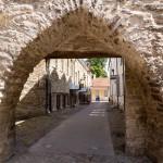 Średniowieczna brama miejska