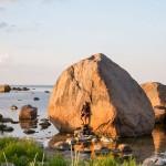 Głazy w zatoce Käsmu