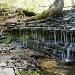 Wodospad Vasaristi. Kaskada trzech wodospadów