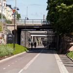 Baana bike – licznik rowerzystów
