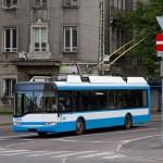 Nowoczesny trolejbus z Poznania