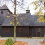 Grzybowo – Drewniany kościół św. Michała z 1757