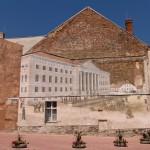 Tatruskie murale – gmach uniwersytetu