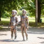 """Rzeźba """"Ojciec i syn"""" estońskiego artysty Ülo Õun"""