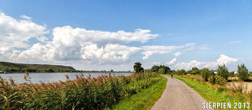 Wyspa Sobieszewska na rowerze