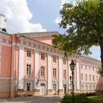 Dziedziniec gmachu głównego uniwersytetu w Tartu