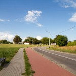 Świbno droga rowerowa