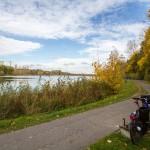 Krótka przerwa nad Jeziorem Winiary