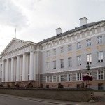 Gmach główny uniwersytetu w Tartu