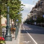Prospekt Giedymina – jedna z większych i bardziej reprezentatywnych ulic Wilna