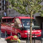 Zwiedzanie miasta mikrobusem