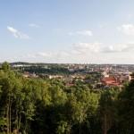 Panorama Wilna ze wzgórz Trzech Krzyży