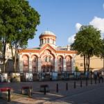 Cerkiew prawosławna w stylu bizantyjskim