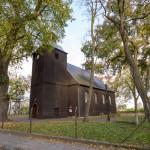 Błociszewo. Drewniany kościół pw. św. Michała z 1736 r