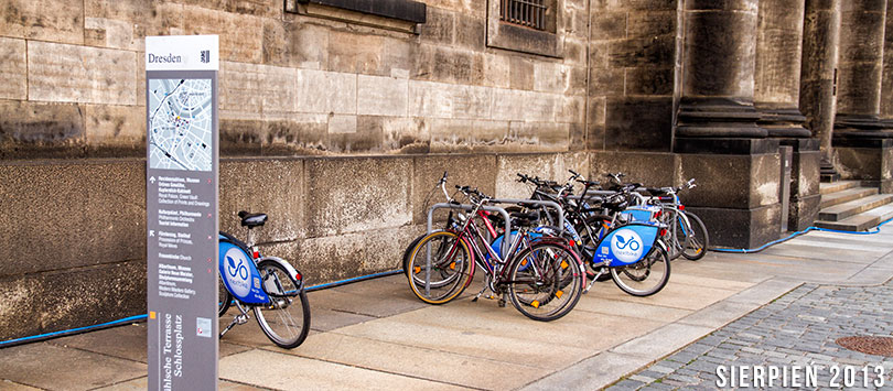 Drezno rowerem