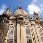Frauenkirche (Dresden), w skrócie: Kościół Mariacki) – kopuła wykonana z kamienia  (w zasadzie to nie oryginał a rekonstrukcja)