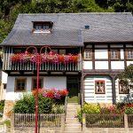 Postelwitz – stary ale utrzymany w dobrym stanie dom połabski