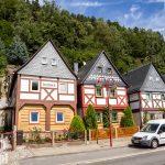 """Postelwitz  – cztery z siedmiu domów siedmiu braci """"Siebenbrüderhäuser"""""""