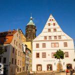 Pirna – kamienica zwana Domem Canaletta – dziś mieści się tu informacja turystyczna