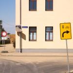 Remont na drodze rowerowej. Niemiecka poprawność nakazuje wytyczyć objazd